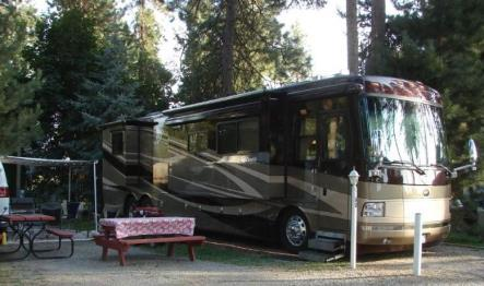 Full hookup campground in coeur d